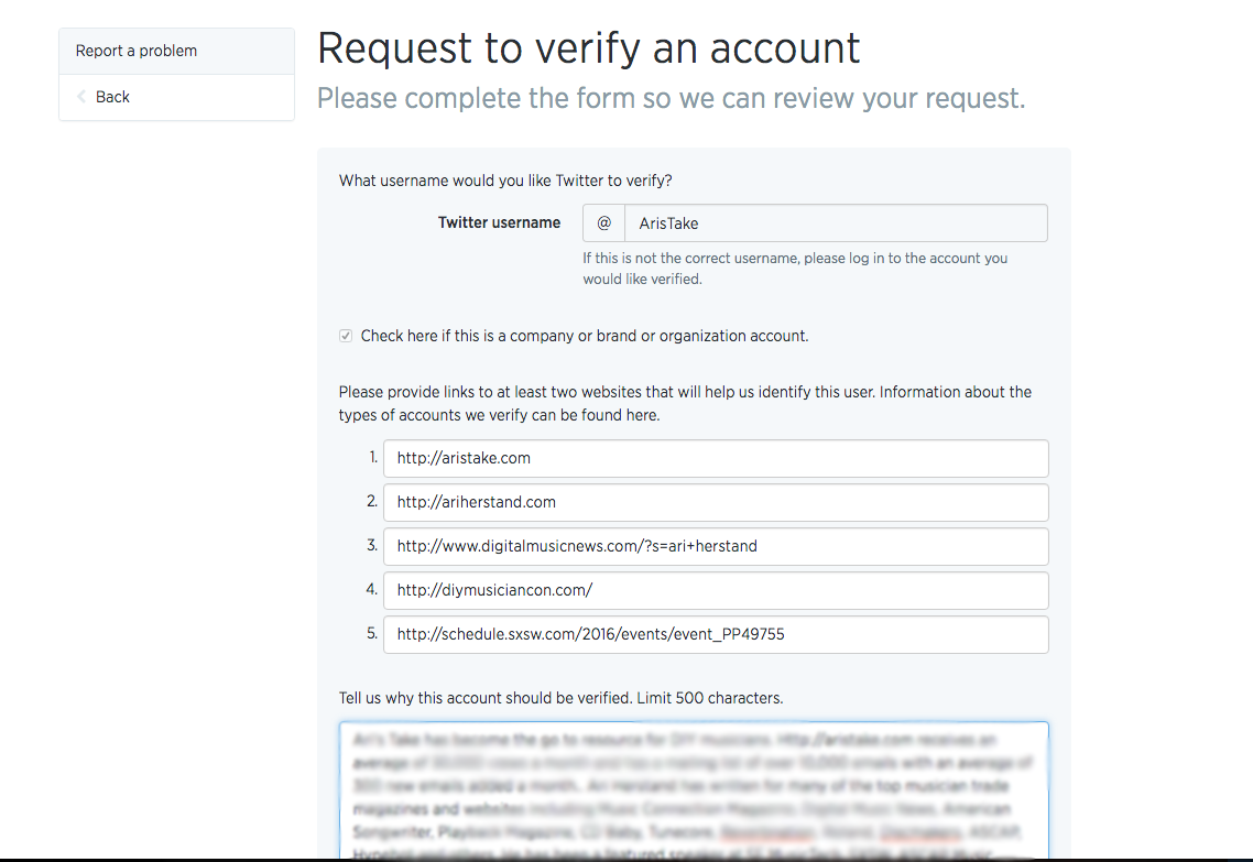 Ari's Take: How To Verify Your Twitter Account