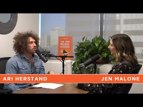 Euphoria Music Supervisor Jen Malone Gives a Sh*t | The New Music Business with Ari Herstand