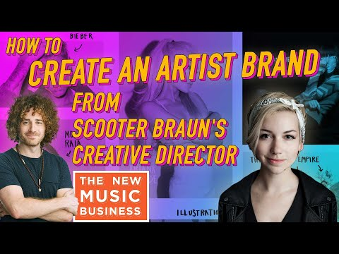How To Create an Artist Brand from Scooter Braun's Creative Director