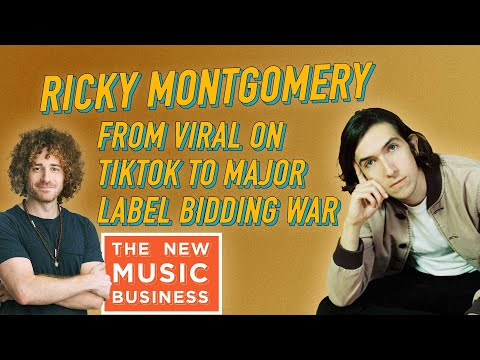 Ricky Montgomery From Viral on TikTok to Major Label Bidding War