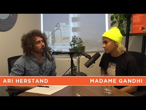 Oprah's Drummer Madame Gandhi on Feminism, Music Video Budgets | New Music Business w/ Ari Herstand