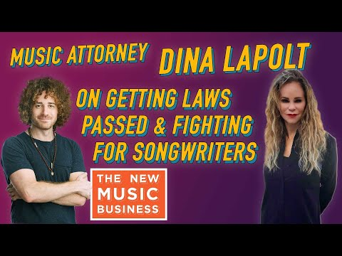 Music Attorney Dina LaPolt on Getting Laws Passed and Fighting for Songwriters