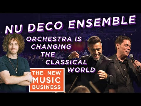 Nu Deco Ensemble Orchestra is Changing the Classical World | New Music Business with Ari Herstand