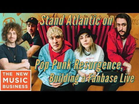 Stand Atlantic on Pop Punk Resurgence, Building a Fanbase Live | New Music Business w/ Ari Herstand