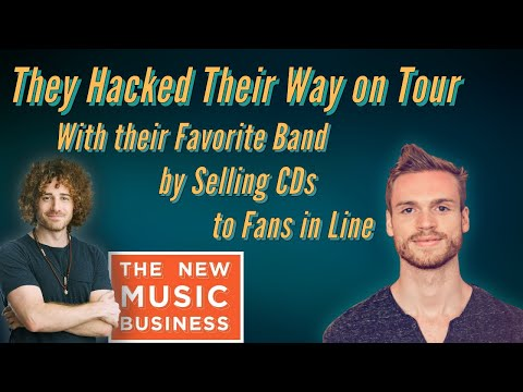 They Hacked Their Way on Tour With their Favorite Band by Selling CDs to Fans in Line