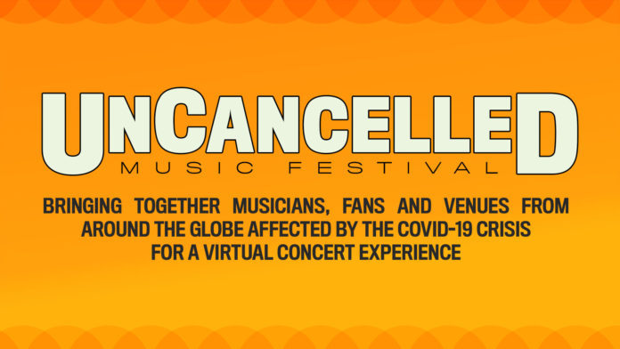 UnCancelled Music Festival Header
