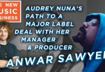 Anwar Sawyer The New Music Business Podcast
