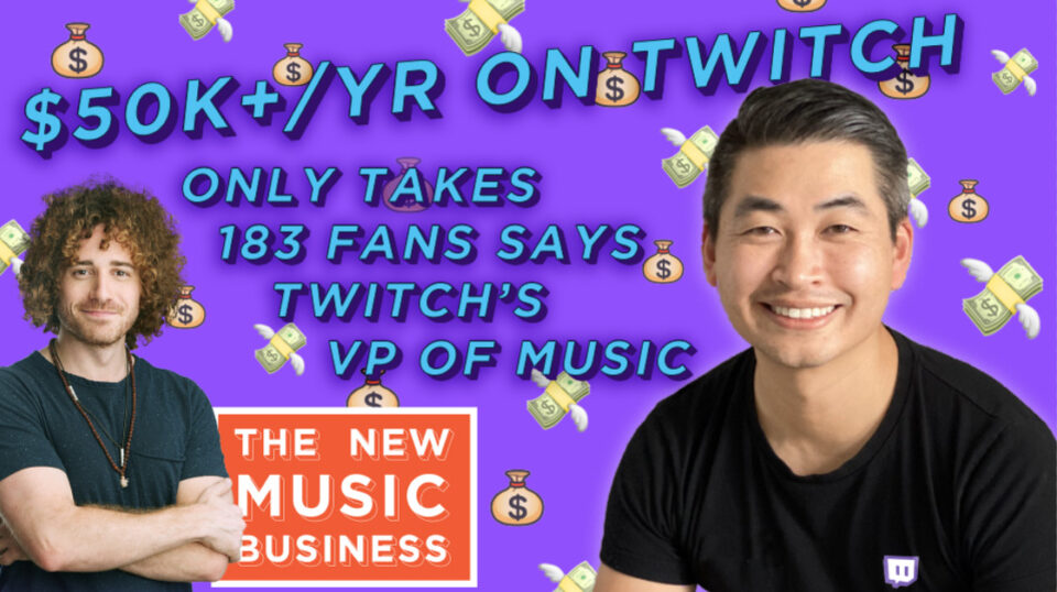 Tracy Patrick Chan Twitch The New Music Business with Ari Herstand