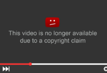 YouTube copyright claim for Content ID