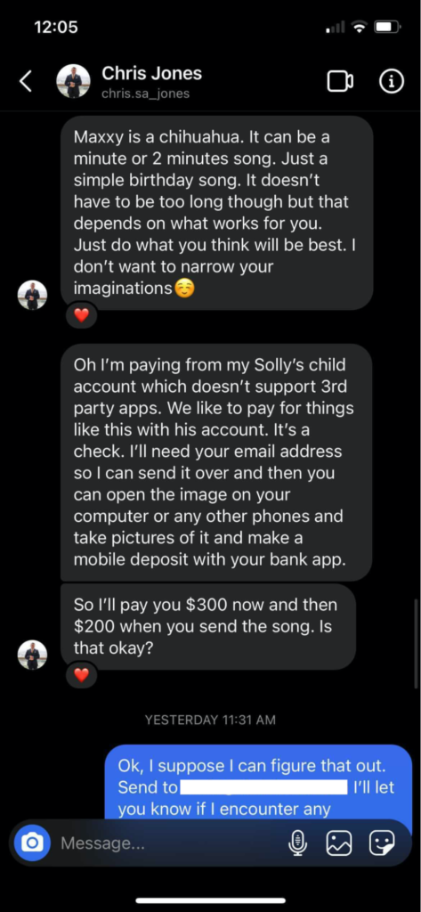 Music Industry Scam Songwriters/Musicians